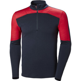Helly Hansen Lifa Merino Top met 1/2 Rits Heren, navy